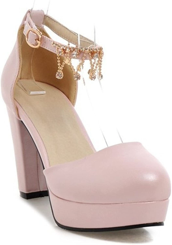 YUBUKE Women Fashion Pointed Toe Pumps High Heel Stilettos Sexy Slip On Dress shoes