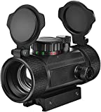 Best Airsoft Scopes - EZshoot Red Green Dot Sight Tactical Scope Reflex Review