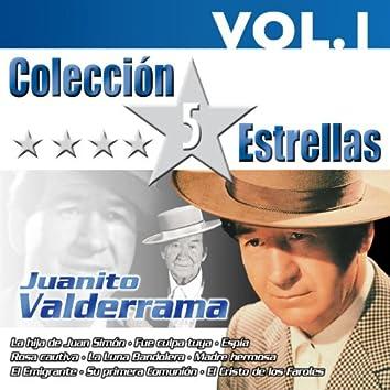 Colección 5 Estrellas. Juanito Valderrrama. Vol. 1