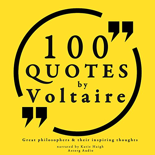 100 Quotes by Voltaire cover art