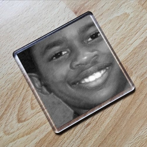 SEASONS MALCOLM DAVID KELLEY - Original Art Coaster #js004