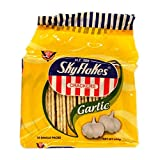 Sky Flakes - Crackers - Galletas Saladas Crackers con Sabor a Ajo - Snack Pack - 250 Gramos