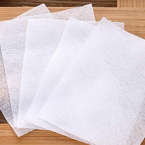 S-TROUBLE 500 Pcs/Sac Facial Mince Non-Tissé Maquillage Coton Tampons Nail Polish Remover Tissus