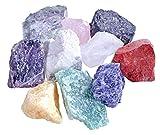 Wassersteine Premium Mischung   10 Stück beliebte Steine für Edelsteinwasser   100% Natursteine mit...