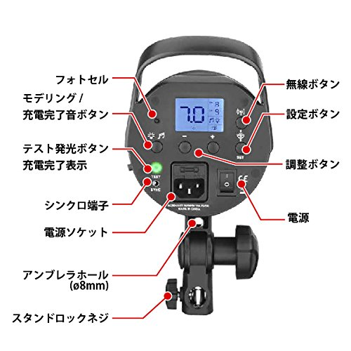 JINBEI(ジンベイ)『JINBEI500WsスタジオモノブロックストロボDM-5』