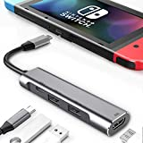 RREAKA USB Type C to HDMI Digital AV Multiport...
