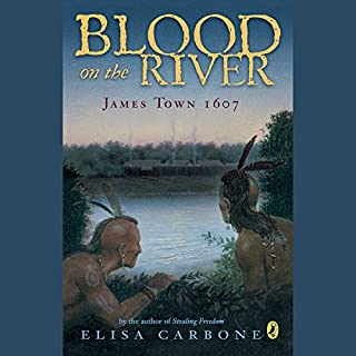 Blood on the River audiobook cover art