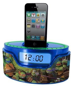 Nickelodeon Teenage Mutant Ninja Turtle iPod Clock Radio Dock  50265C-IPH