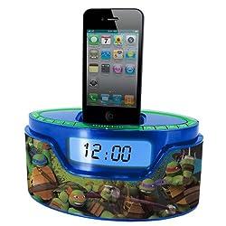 Nickelodeon Teenage Mutant Ninja Turtle iPod Clock Radio Dock (50265C-IPH)