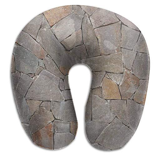 Almohada en Forma de U, Cuello, Piedras apiladas Grandes, Viaje, Almohada Multifuncional, Coche, avión