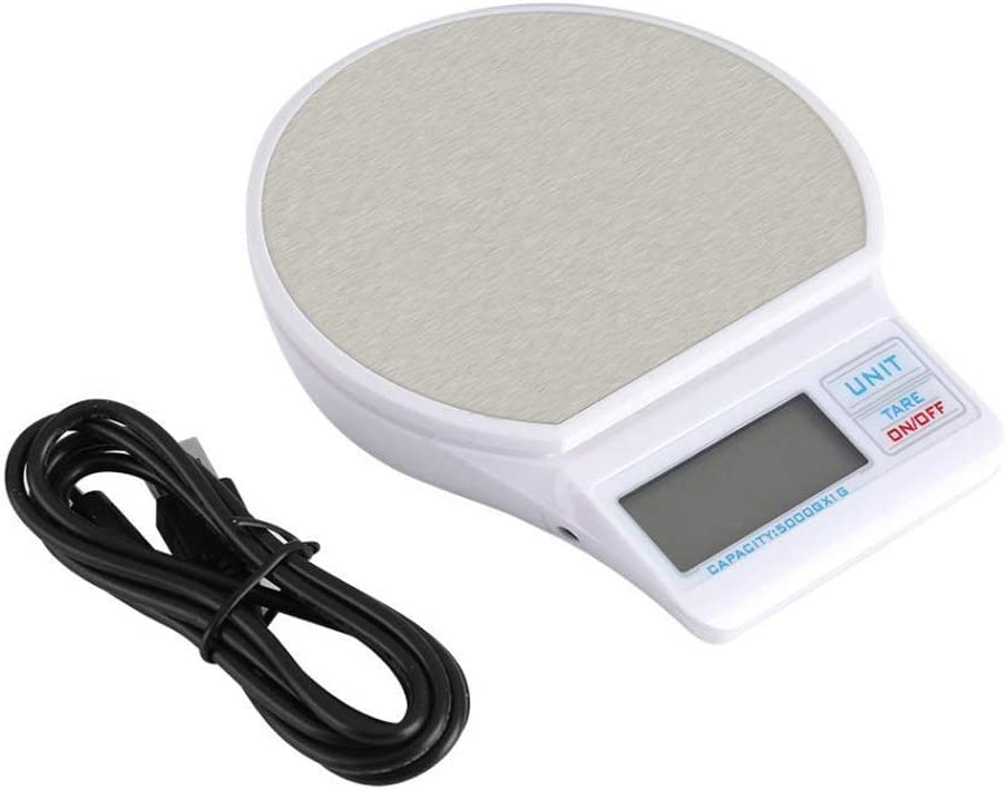 DCJLH Kitchen Scale Stainless Steel Digital Weighing Foo Year-end gift Fresno Mall