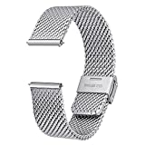 BERNY Mesh Watch Band 20mm Quick Release...