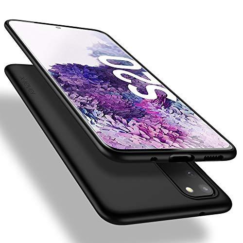 X-level Samsung Galaxy S20 Hülle, [Guardian Serie] Soft Flex TPU Hülle Superdünn Handyhülle Silikon Bumper Cover Schutz Tasche Schale Schutzhülle für Samsung Galaxy S20 5G - Schwarz