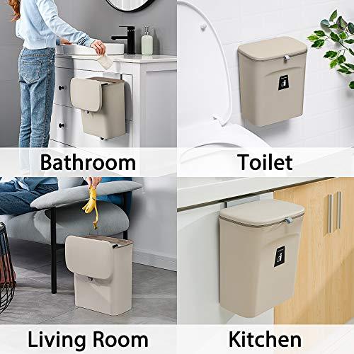 Asvert Cubos de basura para la cocina