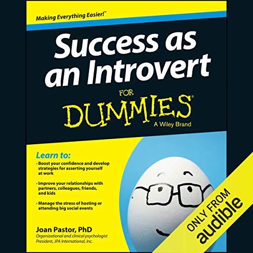 Success as an Introvert for Dummies audiobook cover art