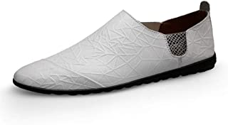 Chaussures décontractées Sandales plates pour hommes, doux et confortable, couleur massif de couleur masculine (Color : Wh...