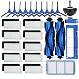 Avaenzo 26 Pack Replacement Parts Accessories Compatible for Eufy Robovac 11s 12 25C 15T 30C 39C Including Side/Sweep/Main Roller Brush, Filter Main Brush Cover/Shell/Protector, Front Caster Wheel