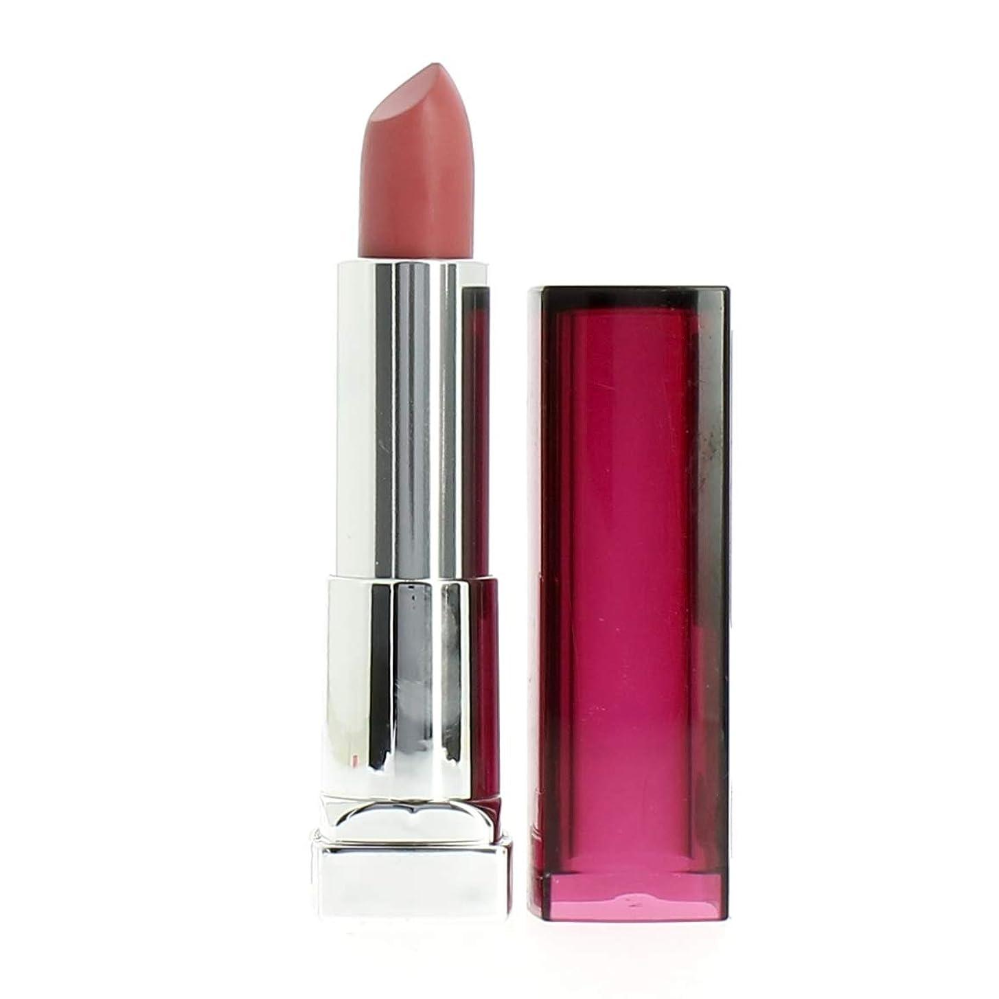 深くスタジアムペストリーMaybelline Color Sensational Lipstick -162 Feel Pink