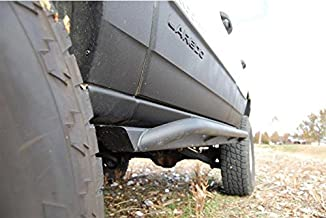 product image for JcrOffroad WJSL-CL-BARE Rocker Guard, Slider and Armor (Wk Classic 99-04 Bare)