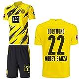 PUMA Borussia Dortmund BVB Heimset 2020 2021 Home Kit Sponsor BL Logo Herren Mateu Morey Bauza 22 Gr M
