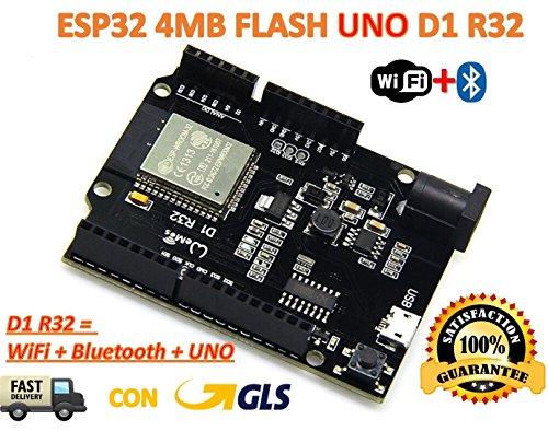 TECNOIOT TTgo ESP32 WiFi + Bluetooth Board Flash von 4 MB