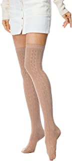 I wish Women's Girls Summer Fashion Over Knee Stockings Thigh High Cotton Socks