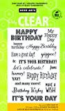 Hero Arts CL661 Clear Stamps, It's Your Day, 4' x 6'
