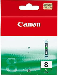 New CANON OEM Inkjet Ink for PRO9000-1-CLI8G SD Green Ink (Printing Supplies)