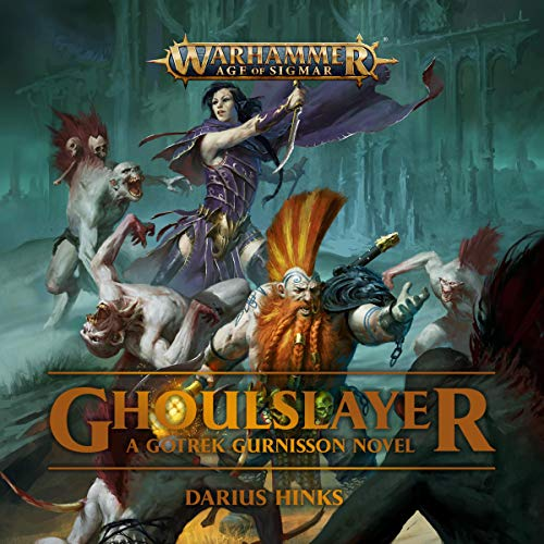 Ghoulslayer audiobook cover art