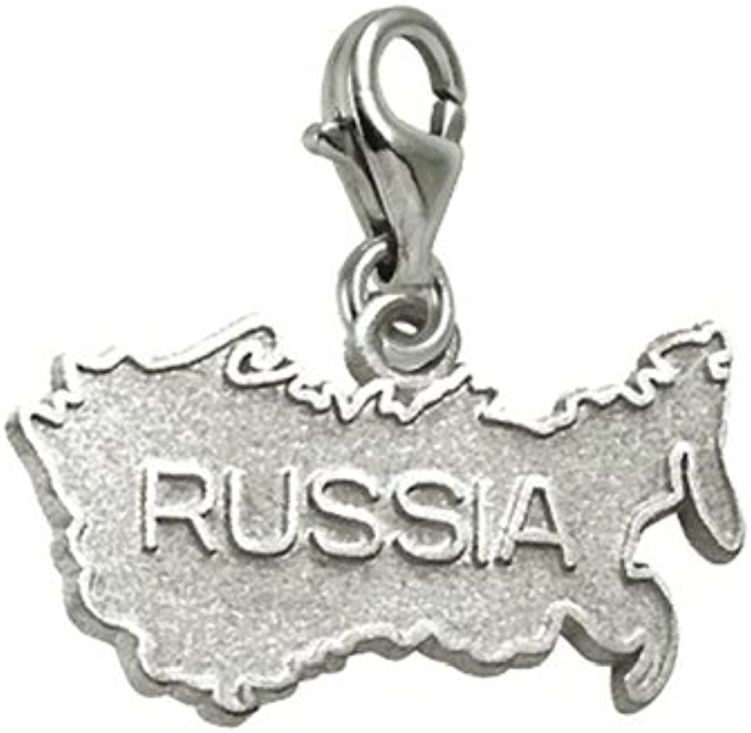 Russia Charm With Lobster Claw Clasp Year-end annual account and Charms Max 57% OFF for Bracelets N