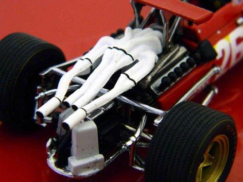J. Ickx Ferrari 312 F1 #26 Winner GP Frankreich Formel 1 1968 1:43 Ixo