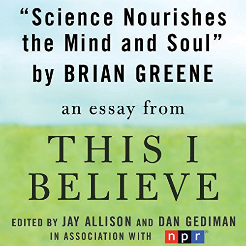 Science Nourishes the Mind and Soul audiobook cover art