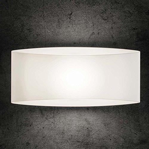 Holtkötter 9502-1-8 LED-Wandleuchte, 25 x 11.7 x 11.5 cm, weiß