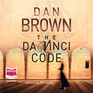 The Da Vinci Code                   By:                                                                                                                                 Dan Brown                               Narrated by:                                                                                                                                 Jeff Harding                      Length: 16 hrs and 39 mins     1,833 ratings     Overall 4.5