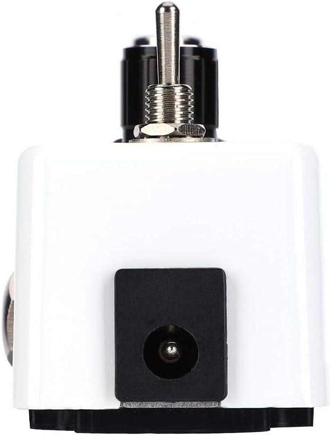 AMONIDA Interruptor de Pedal Phaser Effect Pedal, 1/4 '' Jack Speed knob Pedal de Efecto de Guitarra Vintage, para Amplificador de Guitarra para práctica en Vivo
