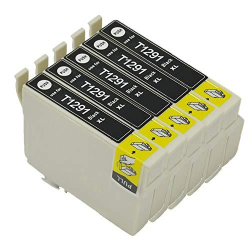 Karl Aiken T1295 - Cartuchos de tinta compatibles con Epson Stylus SX235W SX420W SX425W SX435W SX525WD SX535WD Workforce WF-3520 WF-7515