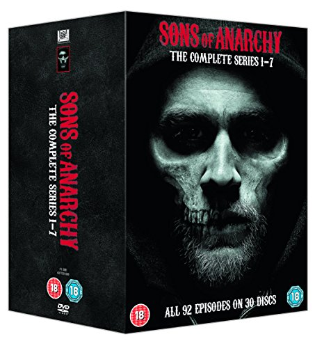 Sons Of Anarchy: The Complete Series 1-7 [30 DVDs] [UK Import]