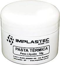 """""""Pasta T rmica 50g, Implastec, Silicone, Branca"""""""