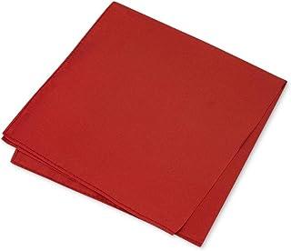 Club Room Mens Simple Solid Silk Dress Pocket Square
