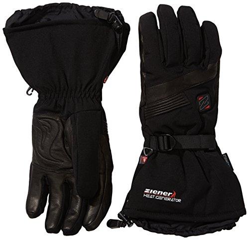 Ziener Erwachsene Handschuhe Gasper AS PR Hot Gloves Ski Alpine, Black, 8.5, 991070