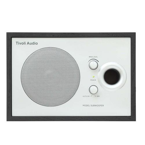 Tivoli Audio Model Subwoofer ブラック/シルバー TVJPMSBLK