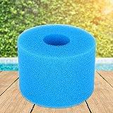 Práctico filtro de espuma de esponja filtro de piscina de espuma de repuesto reutilizable para piscina(7CM)