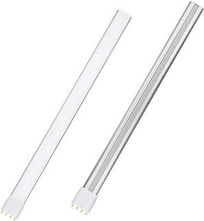 Luxvista 4-Pin 2G11 Base LED Bulb Retrofit Tubular Light Bulbs 22W PL LED Horizontal Plug Tube Light Replace 42W Fluoresce...