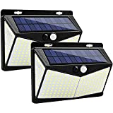 DOOK Luz Solar Exterior 208 LED 3 Modos con Sensor de Movimiento,...