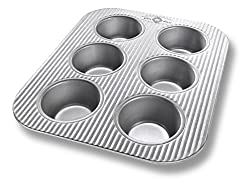 Image of 6-cup muffin tin