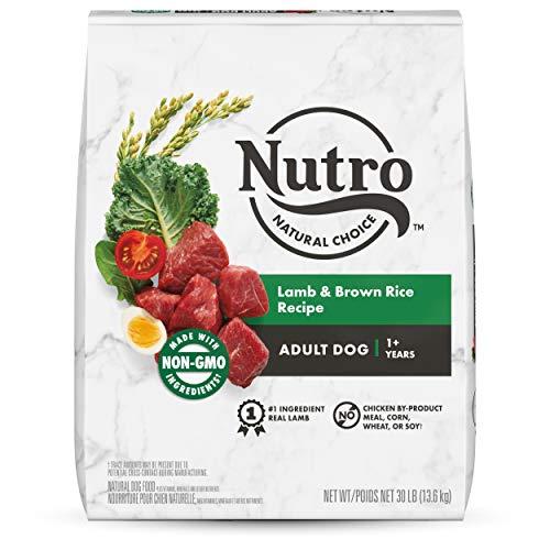 NUTRO NATURAL CHOICE Adult Dry Dog Food, Lamb & Venison