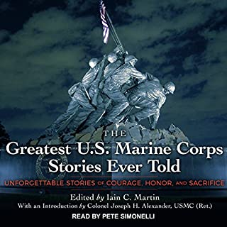 The Greatest U.S. Marine Corps Stories Ever Told cover art