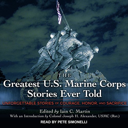 The Greatest U.S. Marine Corps Stories Ever Told audiobook cover art