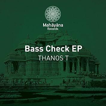 Bass Check EP
