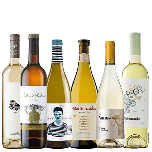 Pack de Vinos Blancos | Vinos frescos para el verano | 6 vinos blancos
